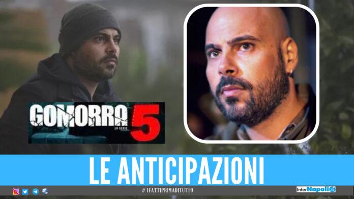 Gomorra 5 Marco D'Amore nei panni di Ciro Di Marzio sul set