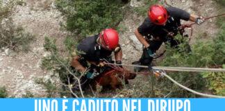 Terrore e paura per una comitiva di Napoli, due bimbi dispersi durante l'escursione e un altro caduto nel dirupo