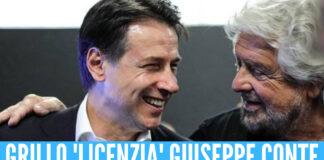 Grillo licenzia Conte