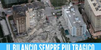 Palazzo crollato a Miami