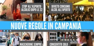Le regole della nuova ordinanza in Campania