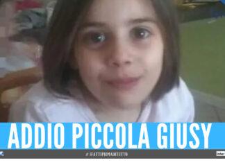 Salerno distrutta dal dolore, la piccola Giusy uccisa a 7 anni da un brutto male