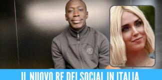 Khaby Lame diventa il re dei social in Italia, superata anche Chiara Ferragni