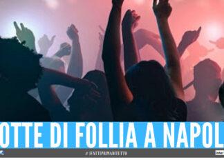 Due feste con 200 persone a Napoli, agenti travolti e spinti sulle scale dalla folla