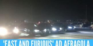 Gare alla 'Fast and Furious' ad Afragola, parcheggio del centro commerciale trasformato in pista