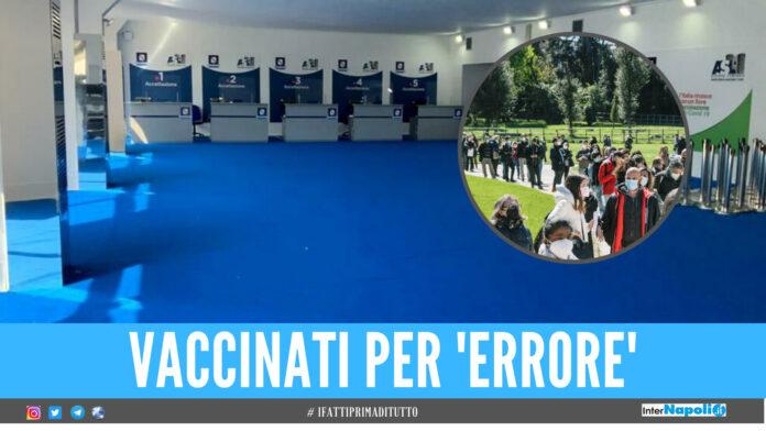 Caos vaccini a Napoli, Astrazeneca somministrato per errore a 44 persone