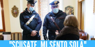 Afragola, nonnina si sente sola e chiama i carabinieri
