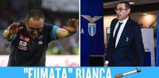 Maurizio Sarri nuovo allenatore della Lazio