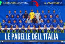 L'Italia vince e convince, 3 a 0: contro la Svizzera: le pagelle degli azzurri