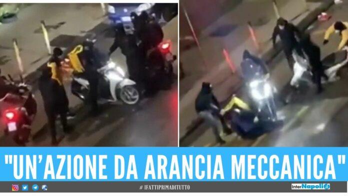 Rider aggredito a Calata Capodichino, i minorenni restano in carcere napoli