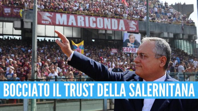 Salernitana di Claudio Lotito, Vigorito del Benevento chiede il ripescaggio.