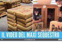 Sequestrate 7 tonnellate di hashish 'Pablo', colpo ai narcos da 13 milioni di euro