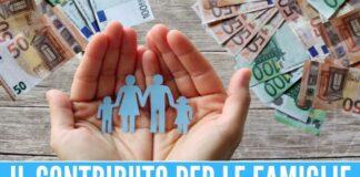 assegno unico prestito ponte governo