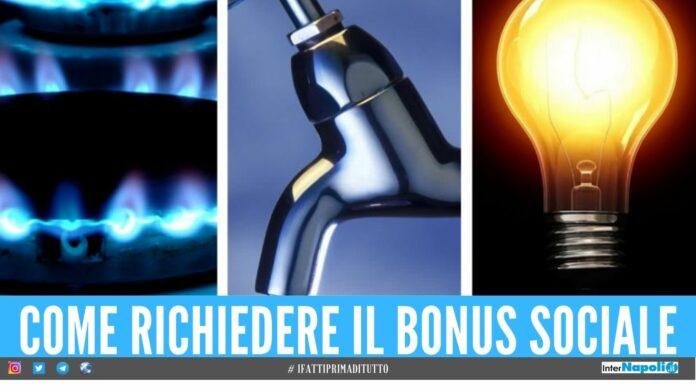 bonus sociale gas luce elettricità