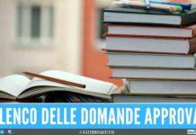 borse studio regione campania graduatoria 250 euro