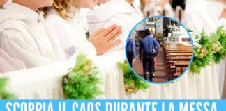 comunioni rissa chiesa napoli