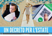 decreto estate dpcm draghi green pass estate vacanze