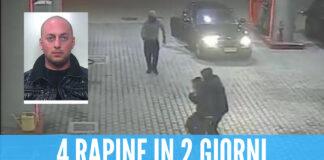 Quattro rapine in due giorni tra Giugliano e Qualiano: arresto bis per Palma e Frascogna