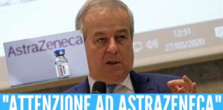 """AstraZeneca, Locatelli: """"Massima attenzione"""". L'Asl Napoli 2 Nord sospende il vaccino day"""