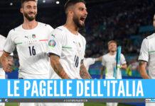 Buona la prima, l'Italia inaugura Euro 2020 con un 3 a 0: le pagelle
