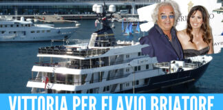 Flavio Briatore yacht Force Blue