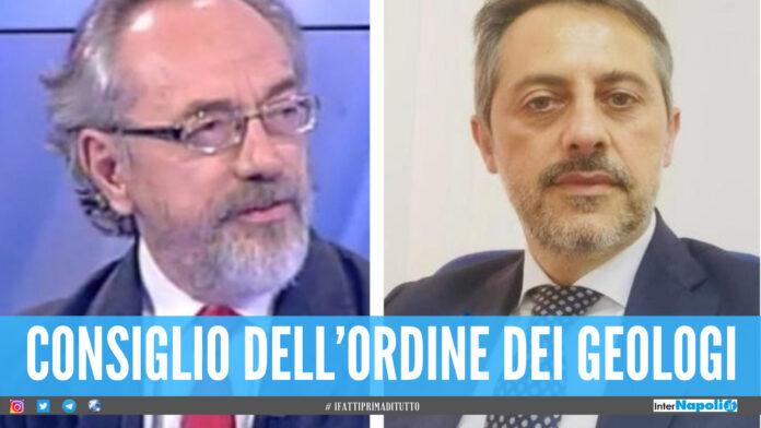Consiglio dell'Ordine dei Geologi della Campania: Grasso confermato presidente, il giuglianese Vincenzo Testa nominato Segretario