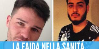 A sinistra la vittima Antonio Bottone, a destra Enrico La Salvia