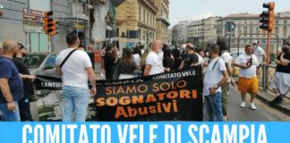 Comitato Vele di Scampia in protesta