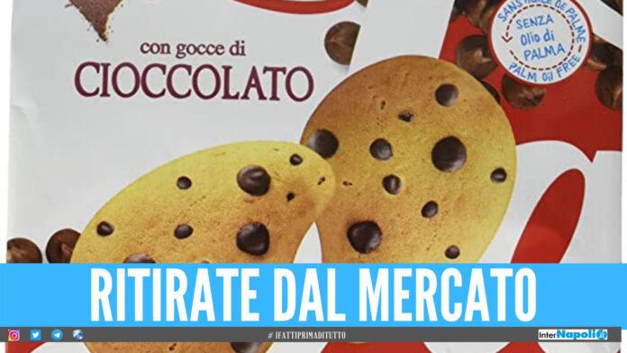 Gocce di cioccolato ritirate dal mercato: