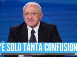 """Vaccini, De Luca su tutte le furie: """"Danno grave ai cittadini della Campania"""""""
