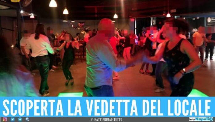 locale napoli balli musica alta