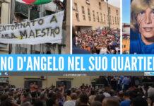 Nino D'Angelo torna a San Pietro a Patierno