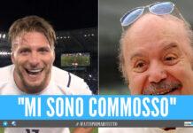 """Lino Banfi, la commozione dopo la dedica di Immobile: """"Una grande gioia"""""""