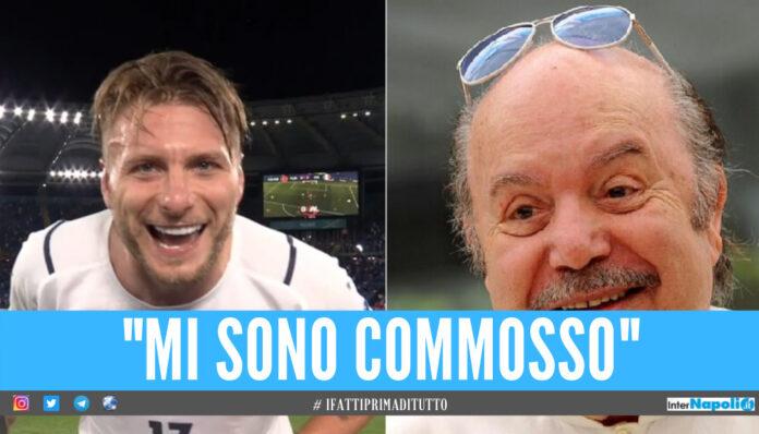 Lino Banfi, la commozione dopo la dedica di Immobile: