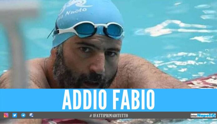 Caserta in lacrime per Fabio, l'istruttore di nuoto ucciso dal Covid
