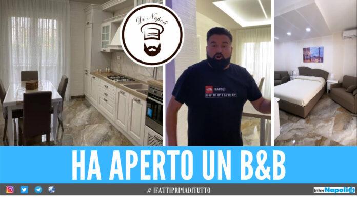 Il nuovo b&b di Peppe Di Napoli