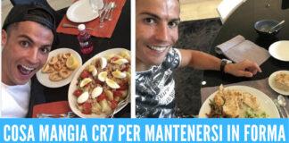 La dieta di Cristiano Ronaldo