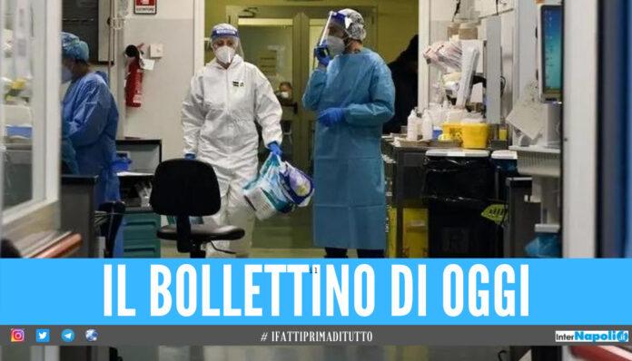 Covid in Campania, scende ancora il numero dei contagi: il bollettino