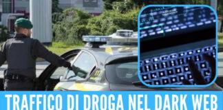 Traffico di droga nel darkweb: nei guai 9 giovanissimi
