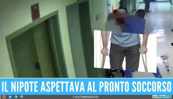 ospedale aggressione caos