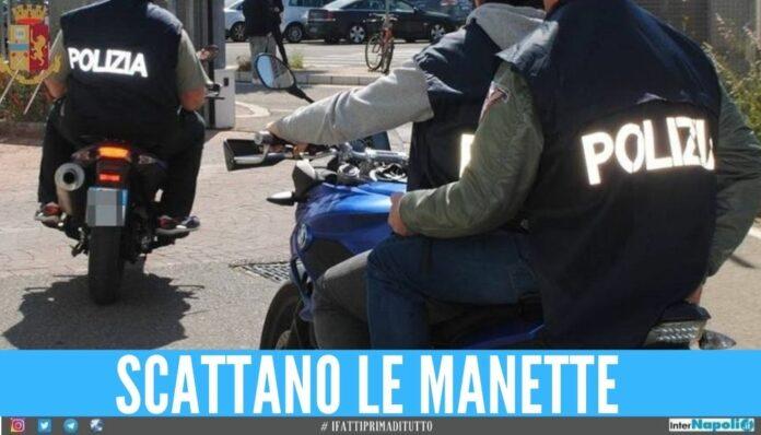 Condannato a 18 anni per traffico di droga, arrestato dai Falchi a Napoli