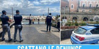 ristorante riva fiorita napoli polizia