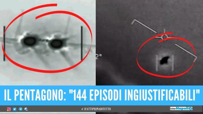 ufo alieni pentagono usa