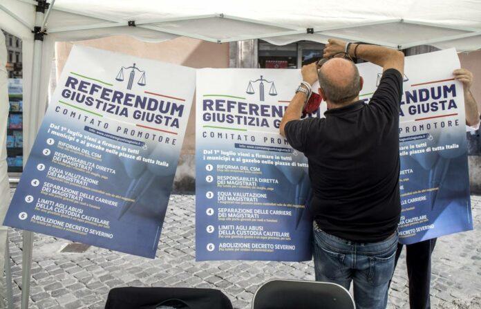 comitato referendario sul tema giustizia