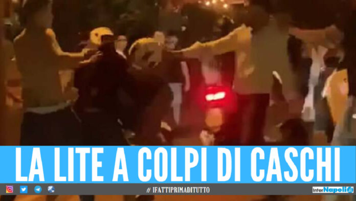Rissa a Bacoli