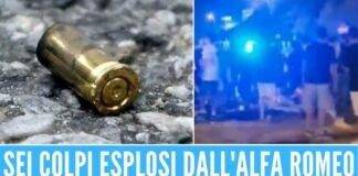 Italia Colpi di pistola esplosi per festeggiare l'Italia, colpiti padre e figlio ad Avellino