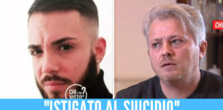 Sulla sinistra Vincenzo D'Orto. Sulla destra Carmine, il padre