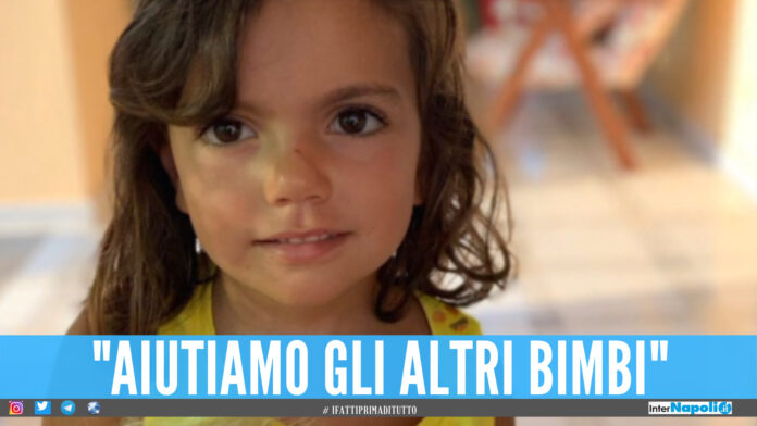 Federica muore a 5 anni per un tumore, la madre: «Salviamo gli altri bimbi con la raccolta fondi»
