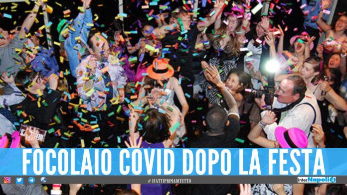 Focolaio dopo la festa di 18 anni a Licola, invitati positivi al Covid dopo il party
