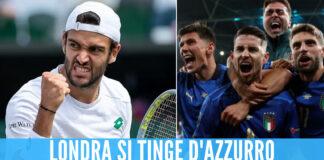 Berrettini a Wimbledon e la Nazionale a Wembley, sarà una domenica tutta italiana